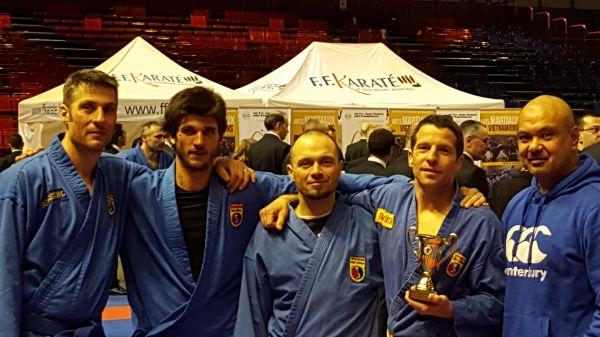 Dimanche 13 Mars 2016 se déroulait le championnat de France Arts Martiaux Vietnamiens à Paris. (à la Halle Carpentier). Le club de Vovinam Viet Vo Dao Blayais présentait quatre participants […]