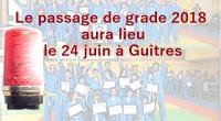 Le passage de grade 2018 aura lieu le 24 juin à Guîtres  Attention il était initialement prévu pour le 23  Pour les adultes : passage le matin, RDV […]
